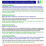 Seminars at Get Healthy Pasadena 2014